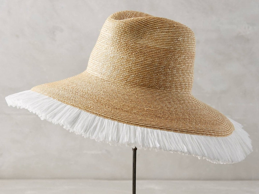 Positano Sun Hat, Tracy Watts.
