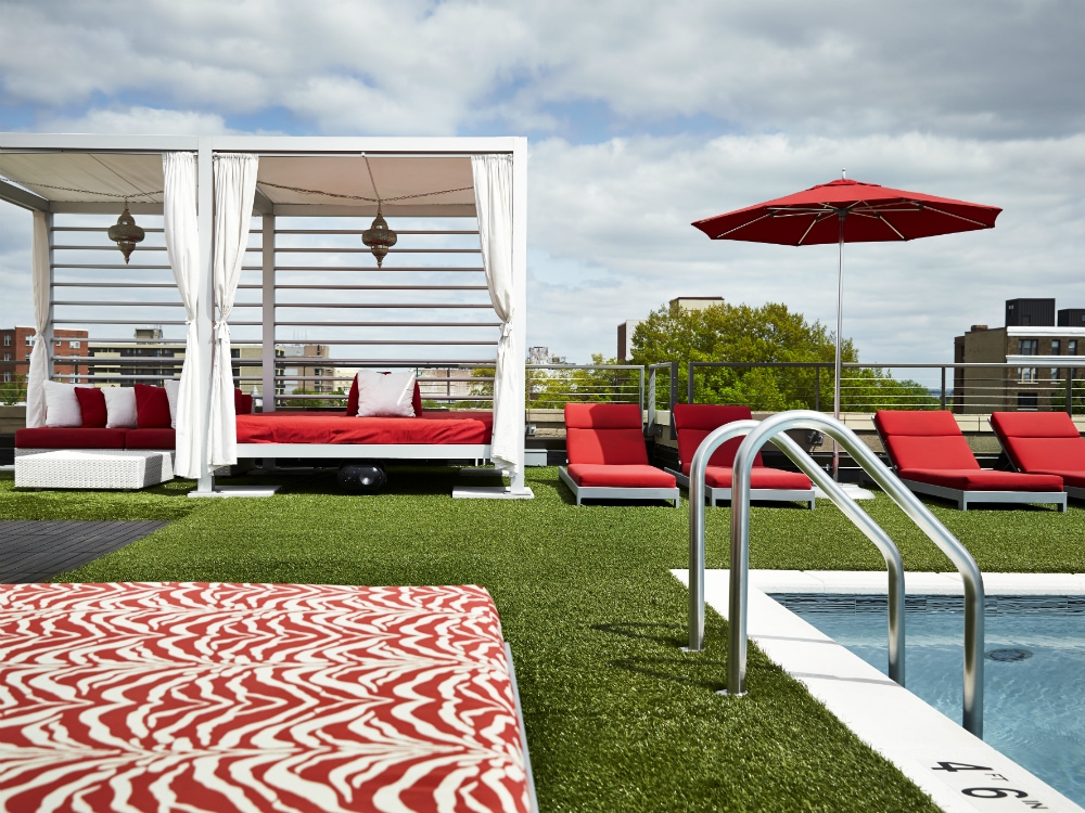 Where to Lounge Poolside in D.C. This Labor Day Weekend