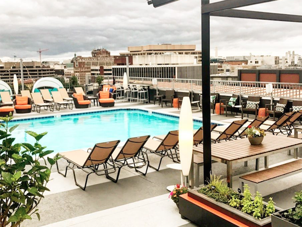 Spend The Rest Of Summer At These Luxe Rooftop Pools