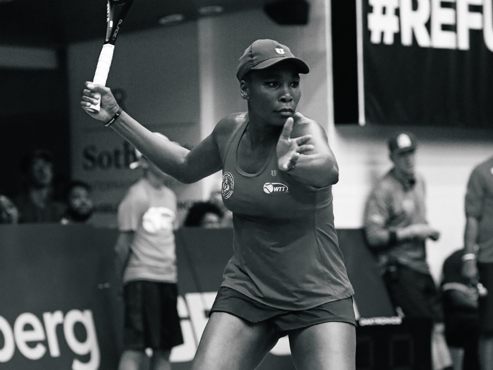 Venus Williams Hits the Tennis Court for a Cause